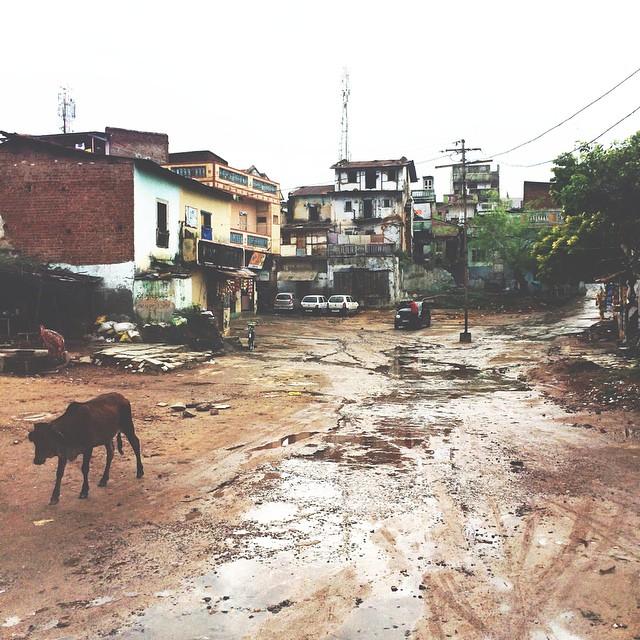 Village in India.