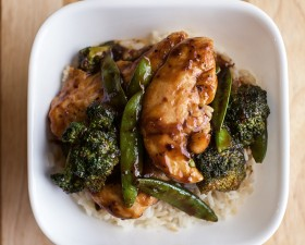 Sesame Chicken Stir-Fry Recipe!