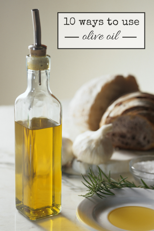 10 Ways To Use Olive Oil