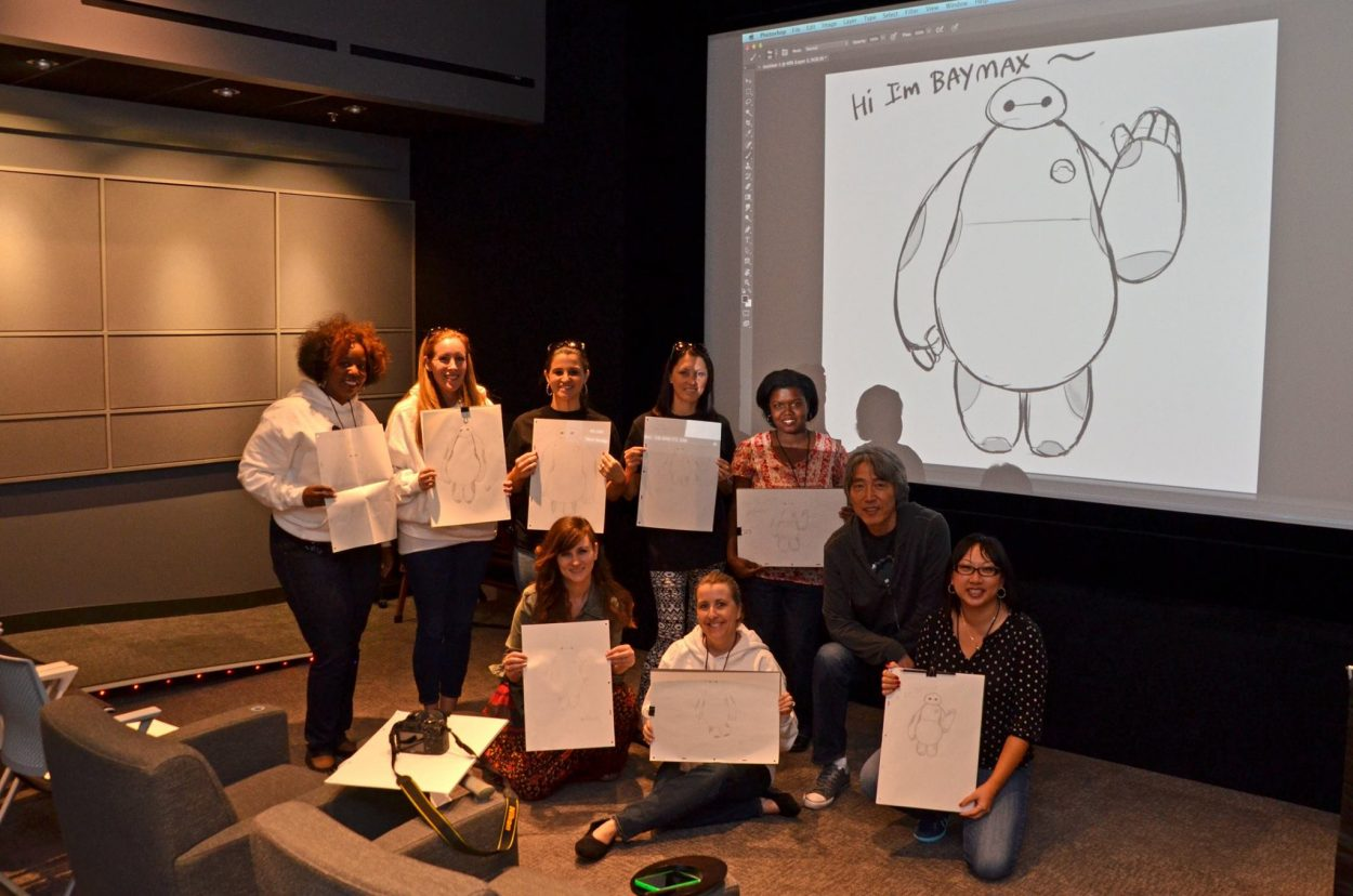 BIG HERO 6 Director & Producer Interview (and Drawing Demo!)