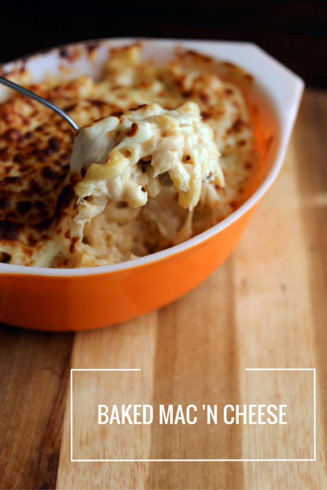 EASY 6 Cheese Baked Mac and Cheese Recipe