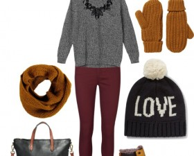 Outfit Inspiration: Cozy Holiday Shopping Atire