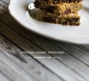 Chocolate Caramel Cookie Bars Recipe