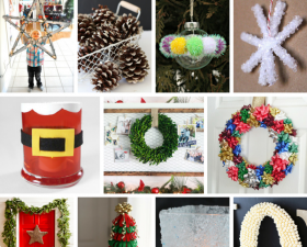 14 Holiday Crafts For The Whole Family!