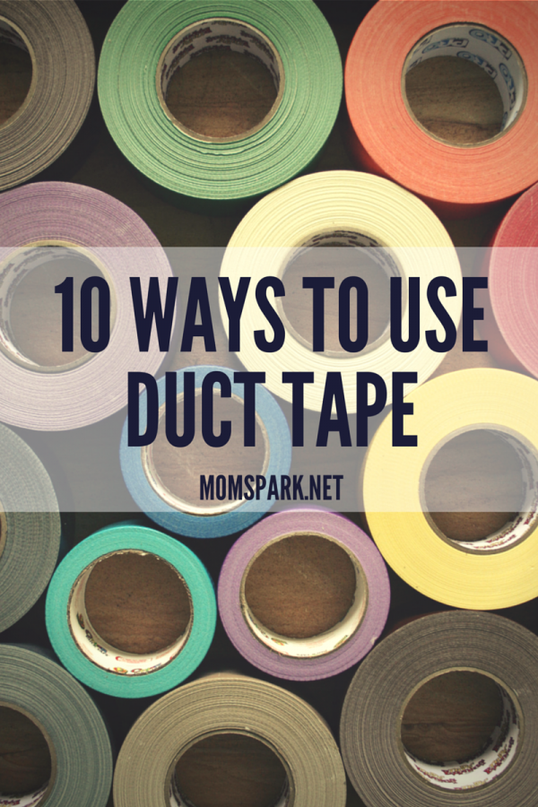 10 Ways To Use Duct Tape