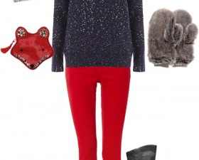 Outfit Inspiration: Snowy Date Night