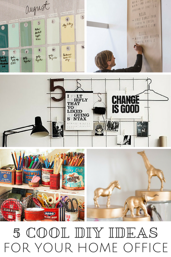 5 Cool DIY Ideas For Your Home Office