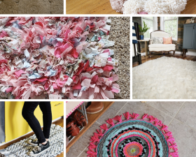 6 Beautiful DIY Rugs For Your Home