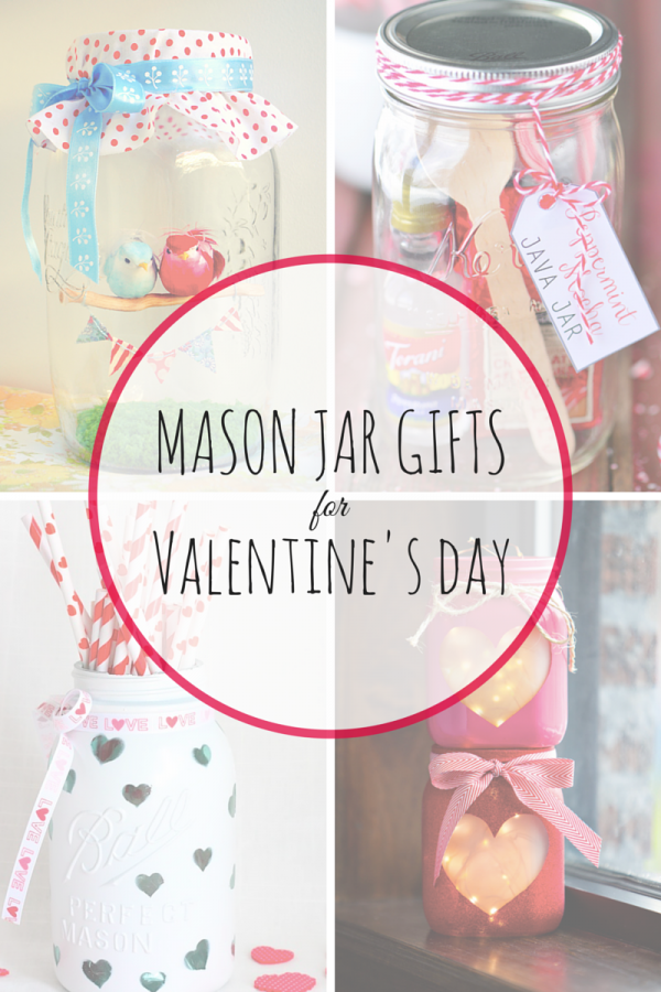 mason jar gifts valentines day
