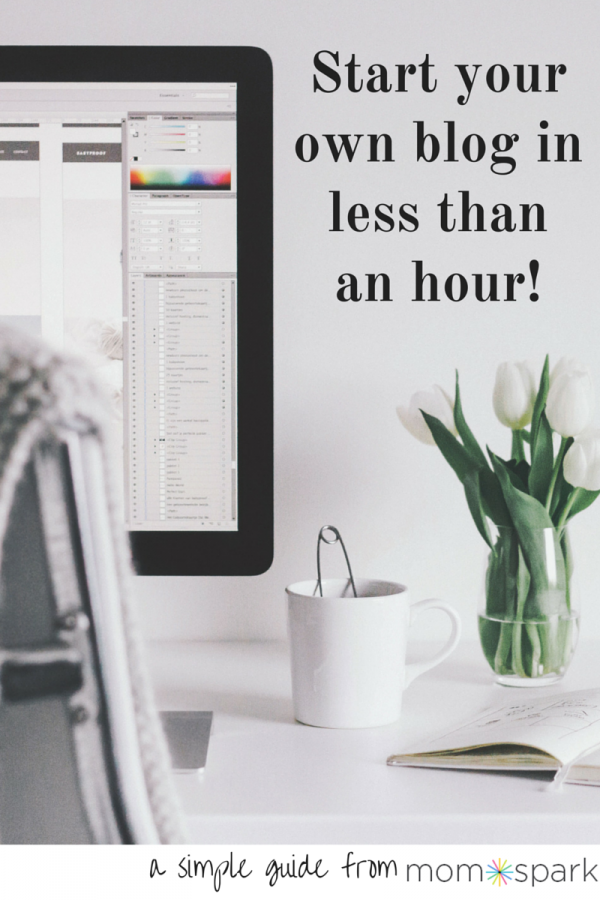 How To Start Your Own Blog In Less Than An Hour