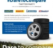 Dare to Compare Twitter Party