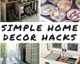 9 Simple Home Decor Hacks