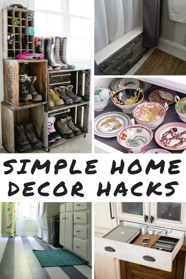 9 simple home decor hacks mom spark mom blogger Cool household hacks