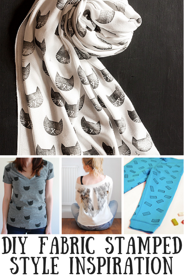 DIY Fabric Stamped Style Inspiration