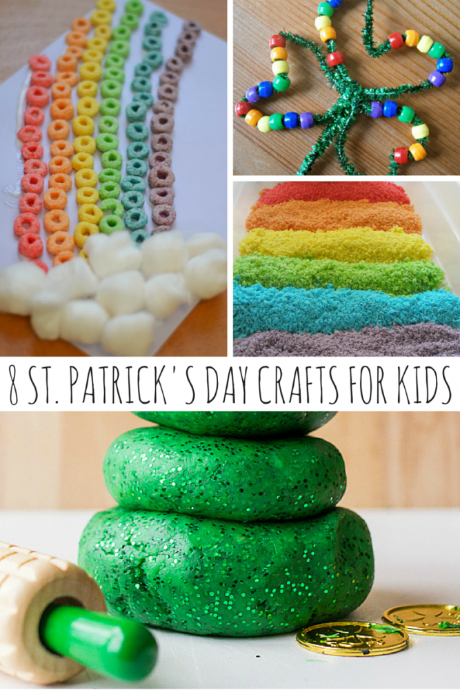 8 St. Patrick's Day Crafts For Kids