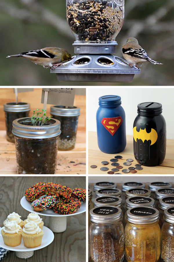 20 Creative Ways To Use Mason Jars