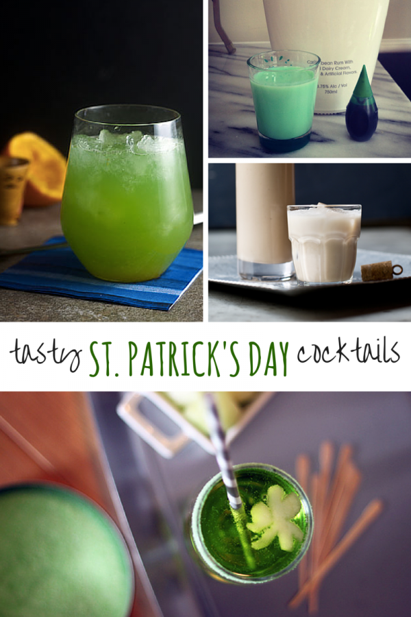 Tasty St. Patrick's Day Cocktails
