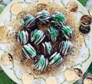 Mint Irish Cream Truffles