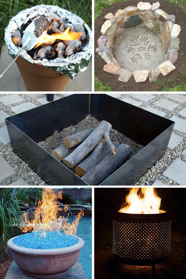 10 Awesome Backyard Fire Pits