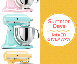 Stand Kitchenaid Mixer Giveaway