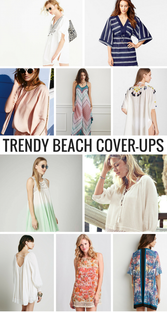 Hit The Beach With These Trendy Beach Cover-Ups