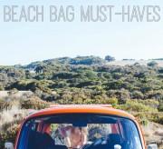 Beach Bag Must-Haves