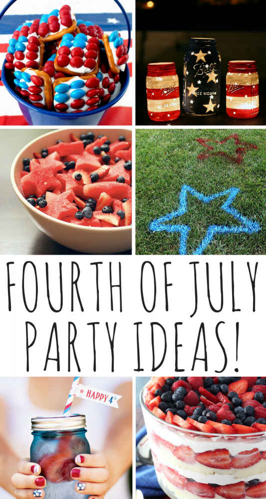 Fourth Of July Party Ideas!