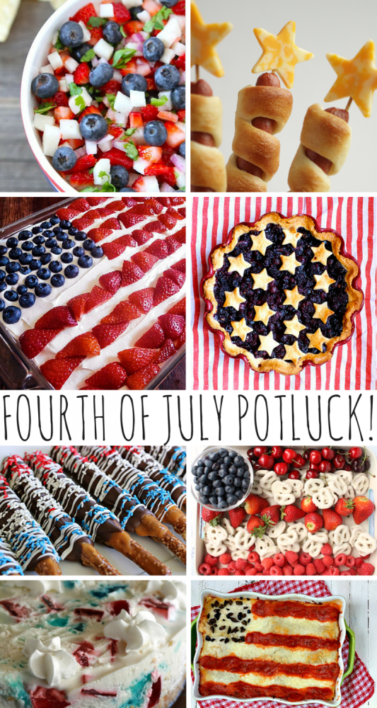 Fourth Of July Potluck Recipes!