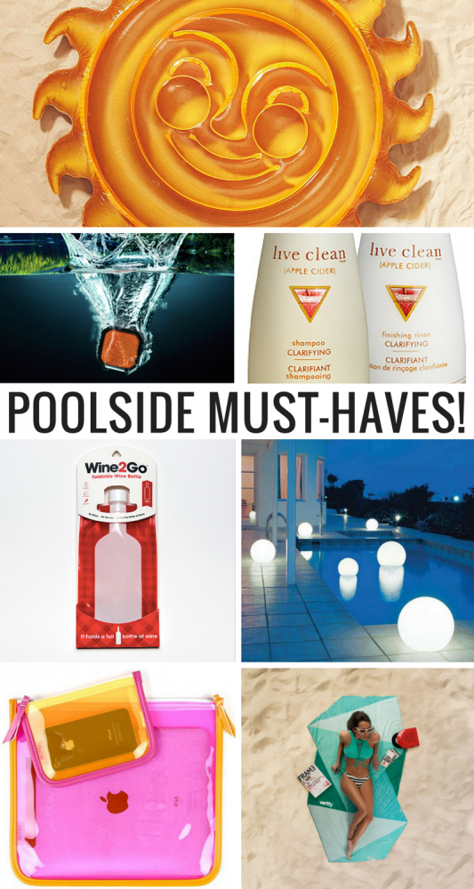 7 Things You'll Want To Have Around The Pool This Summer