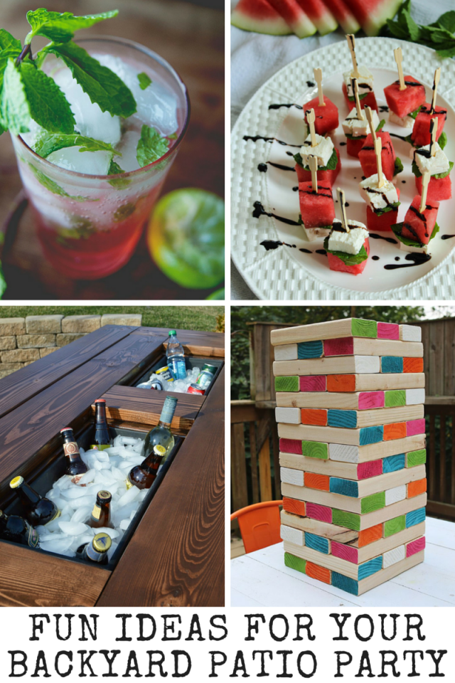 Fun Ideas For Your Backyard Patio Party