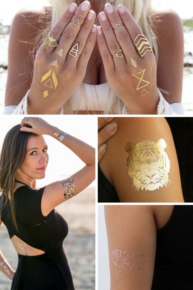 Ways To Wear Flash Tattoos