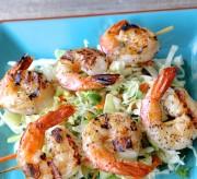 Bang Bang Grilled Shrimp Skewers