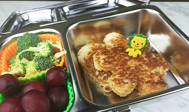 Easy Bento Box Lunch for School