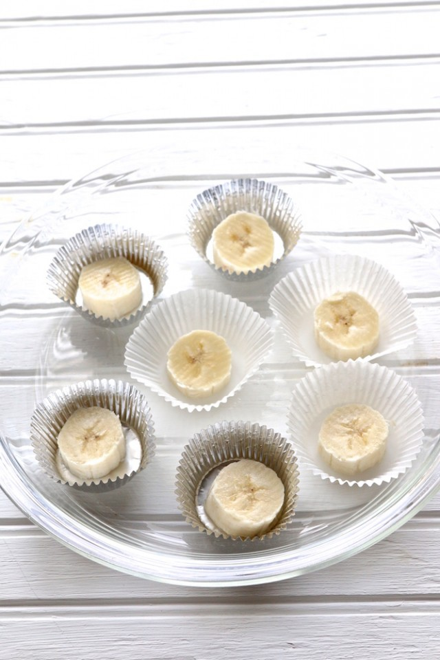 Frozen Banana Peanut Butter Cups