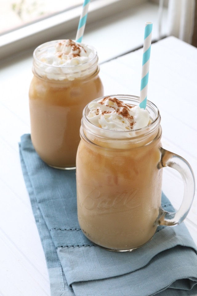 Homemade Iced Latte
