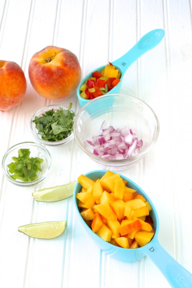 Fresh Peach Salsa Recipe