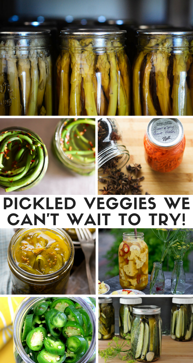 Tasty Pickled Veggies We Can't Wait To Try
