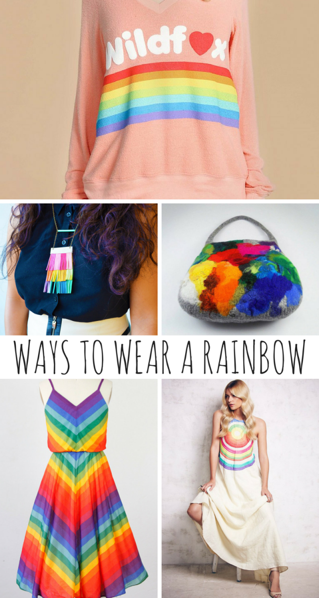 Ways To Wear A Rainbow