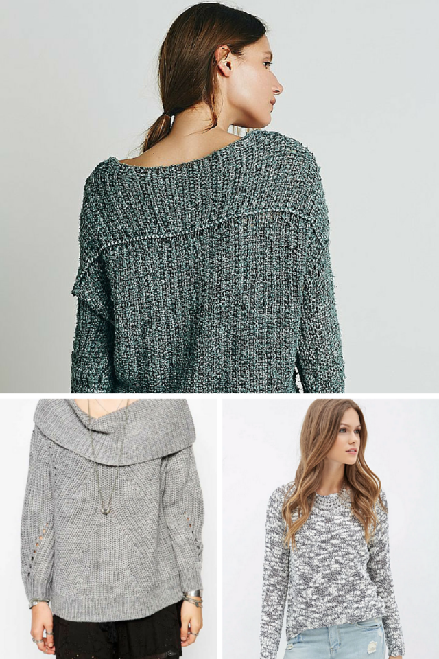 Chunky Knits Are Your BFF This Fall