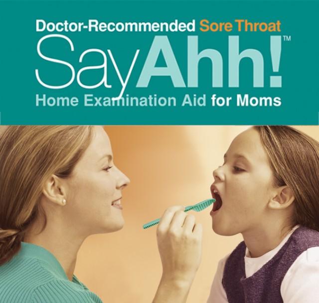 Easy sore throat exams