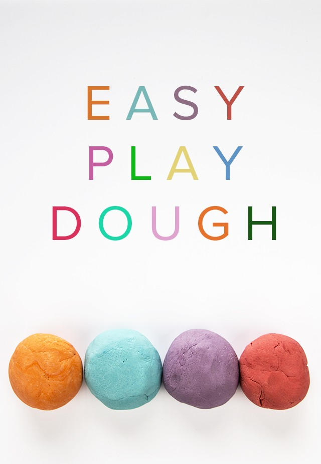 How to Make Easy Play Dough