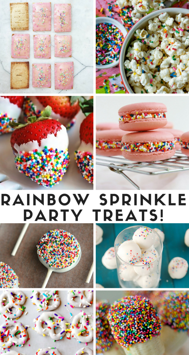 Rainbow Sprinkle Treats and Recipes We Can't Wait To Try!