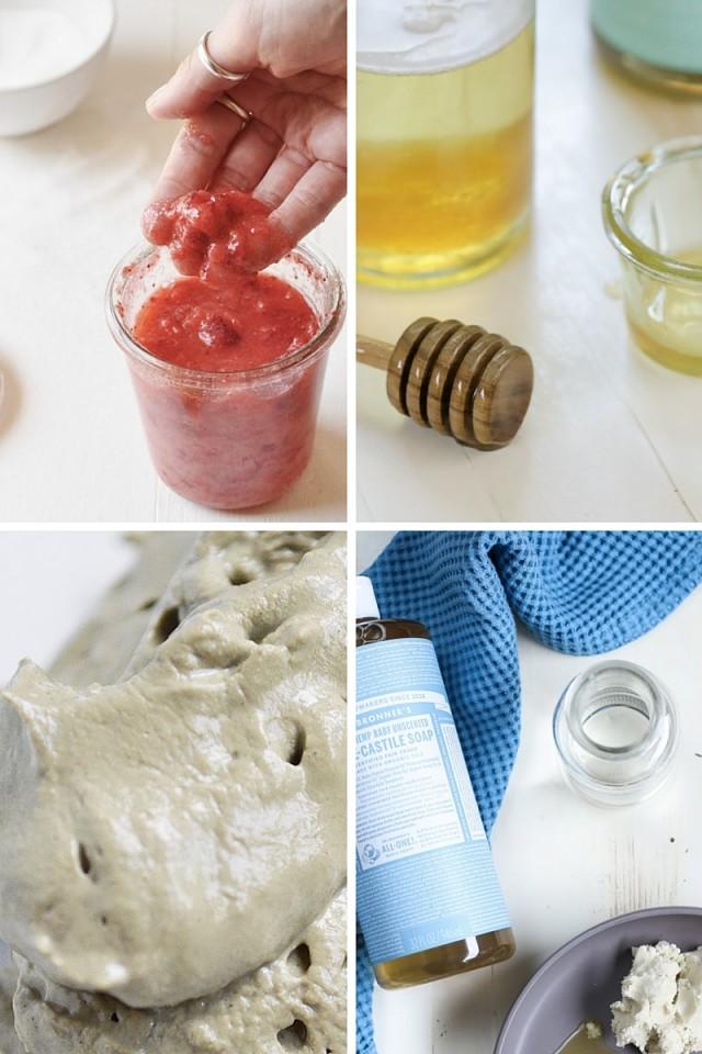 25+ Natural Skincare DIYs