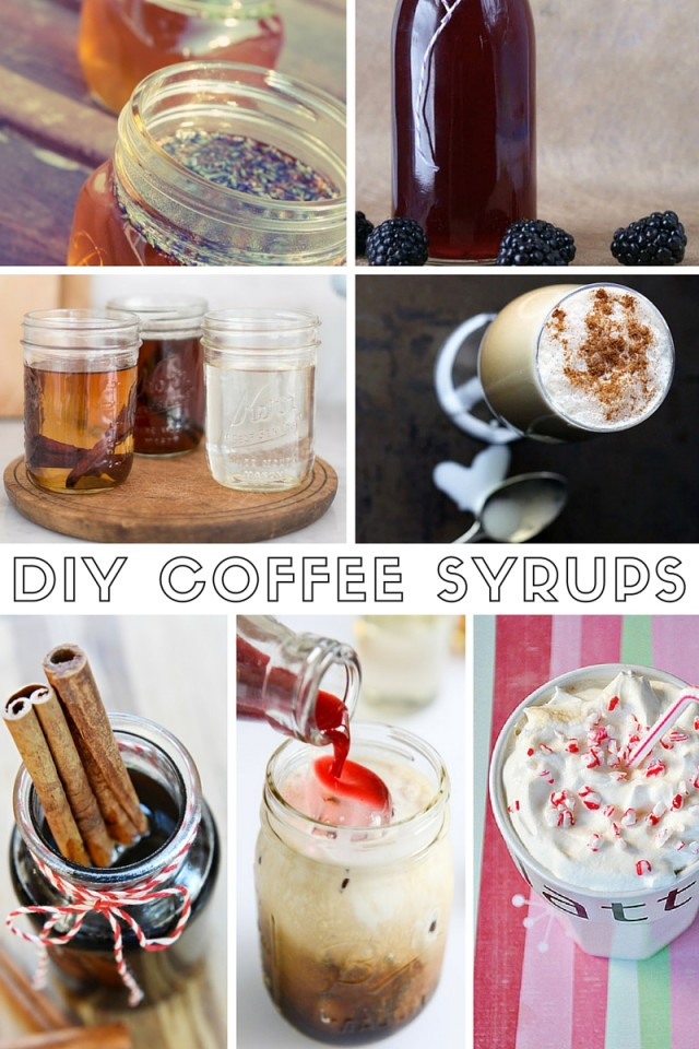 7 DIY Coffee Syrups So You Can Make Those Tasty Lattes At Home