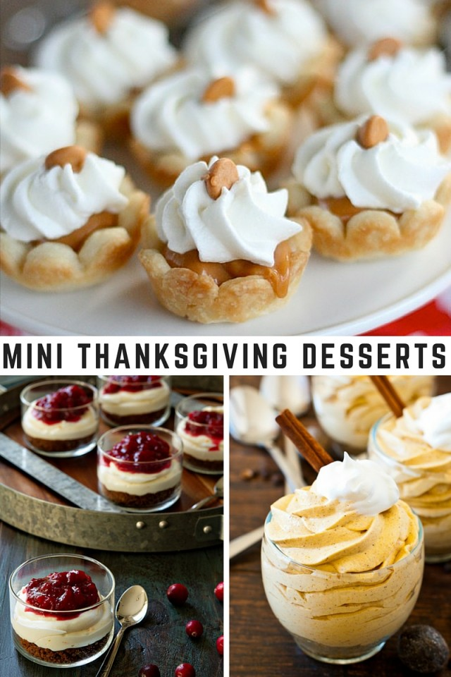 38 Mini Thanksgiving Desserts That Are (Almost) Too Cute To Eat Rashanda Cobbins, Food Editor November 7, These perfectly portioned mini Thanksgiving desserts allow you .