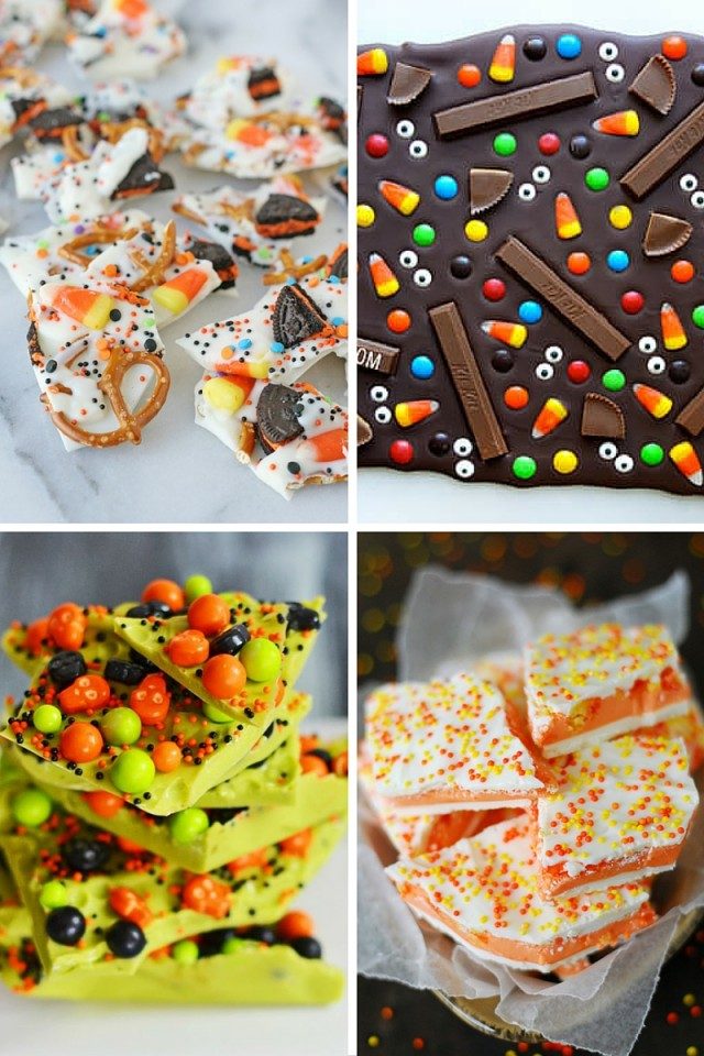Halloween Bark 8 Different Ways