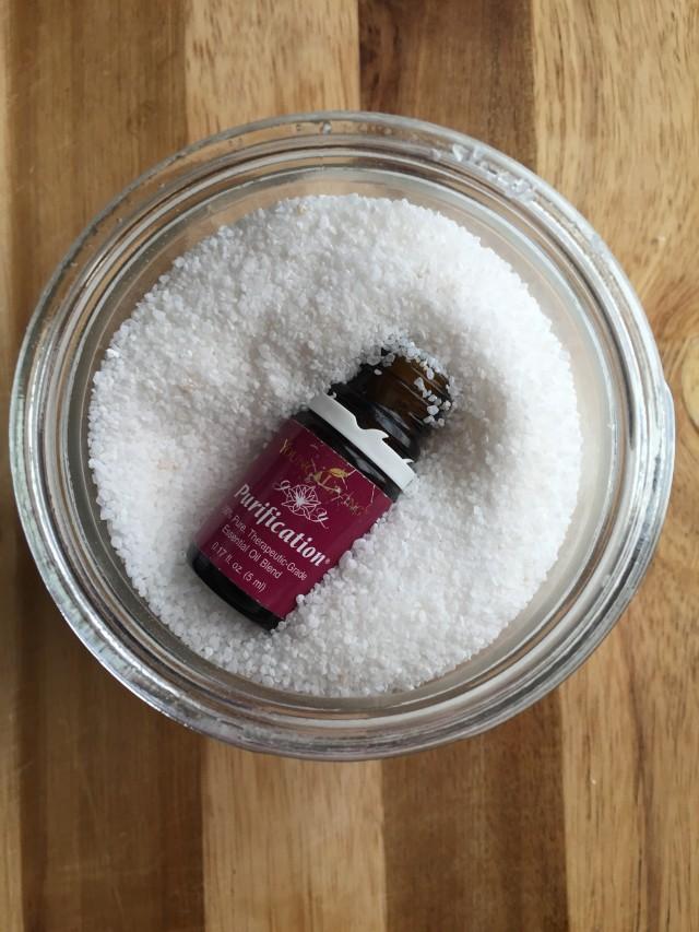 Easy Bath Salts With Essential Oils