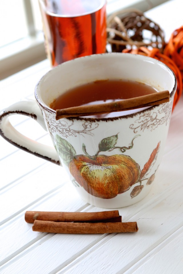 Hot Apple Cider Toddy
