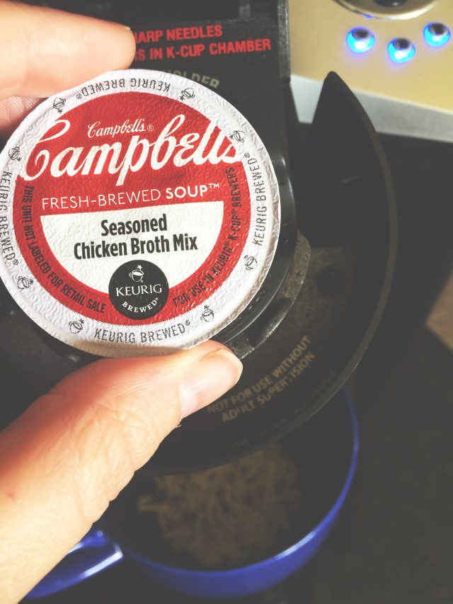 Campbell's Soup In A Keurig K-cup!