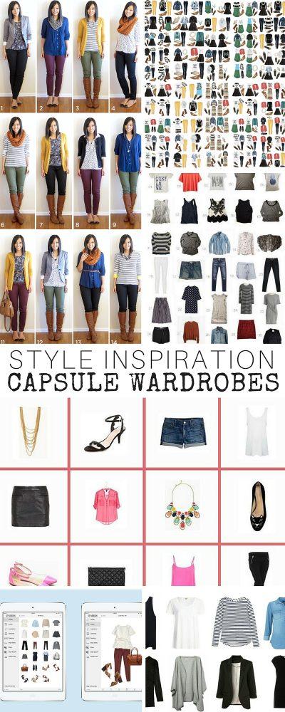 Style Inspiration: Capsule Wardrobes
